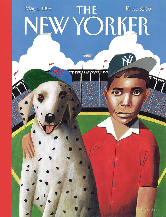 New Yorker May 1st, 1995 Painting by Mark Ulriksen