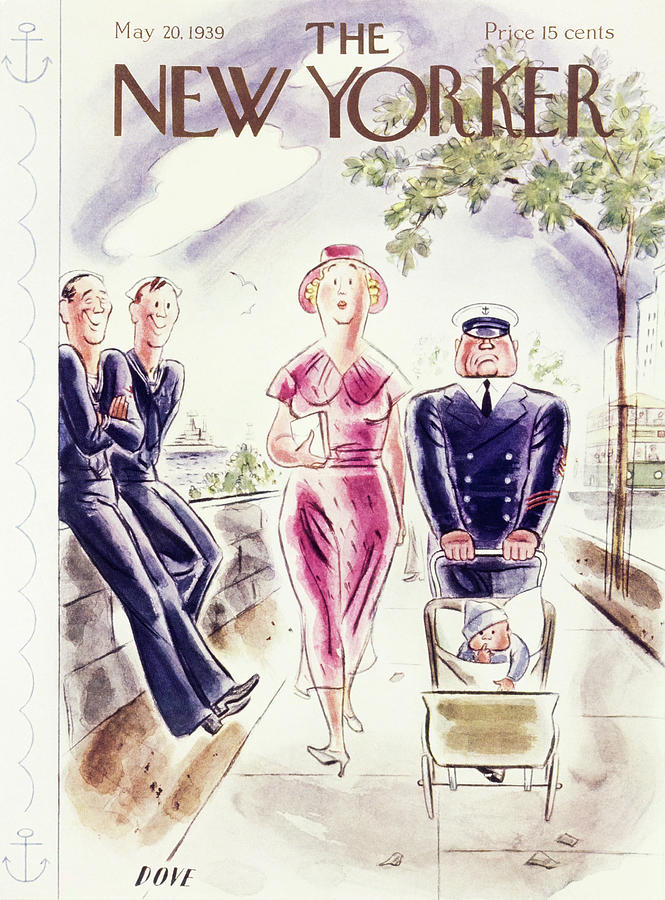 New Yorker May 20 1939 Painting by Leonard Dove