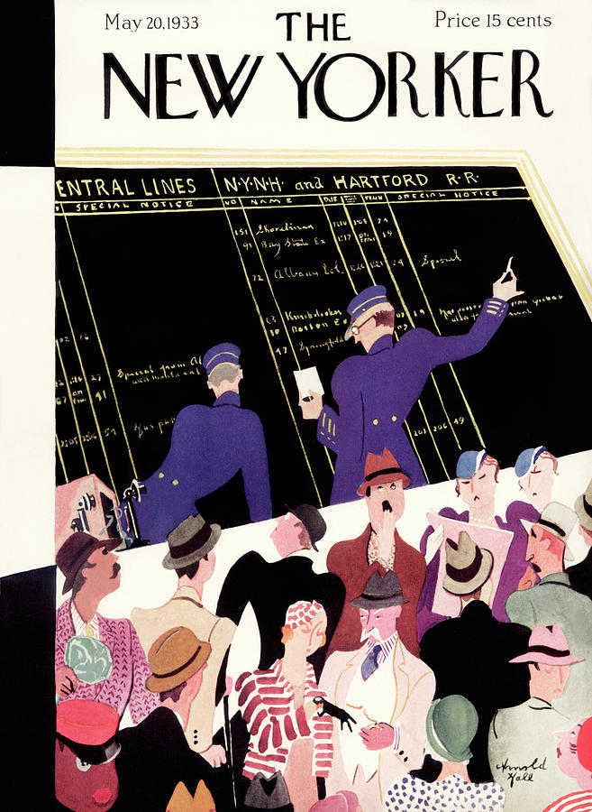 New Yorker May 20th, 1933 Painting by Arnold Hall