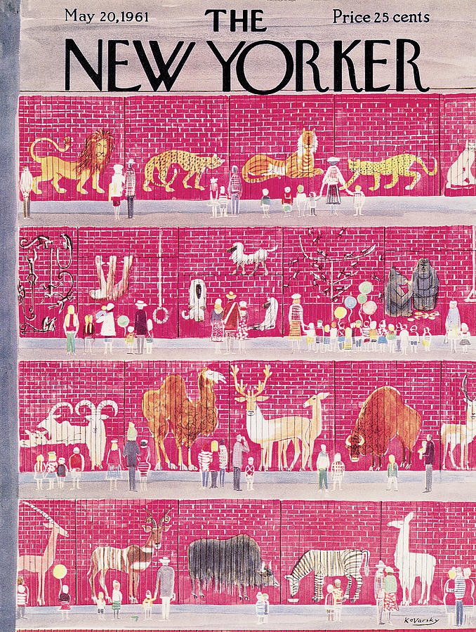 New Yorker May 20th, 1961 Painting by Anatol Kovarsky
