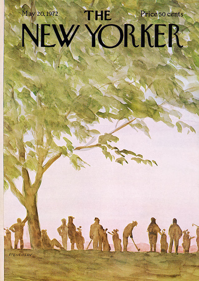New Yorker May 20th, 1972 Painting by James Stevenson