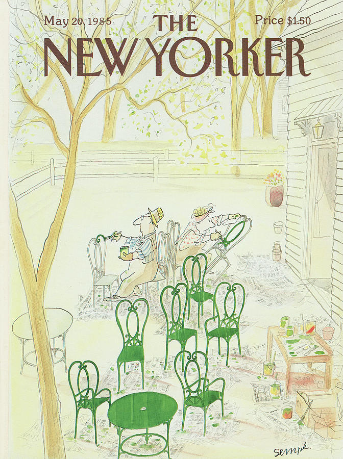 New Yorker May 20th, 1985 Painting by Jean-Jacques Sempe