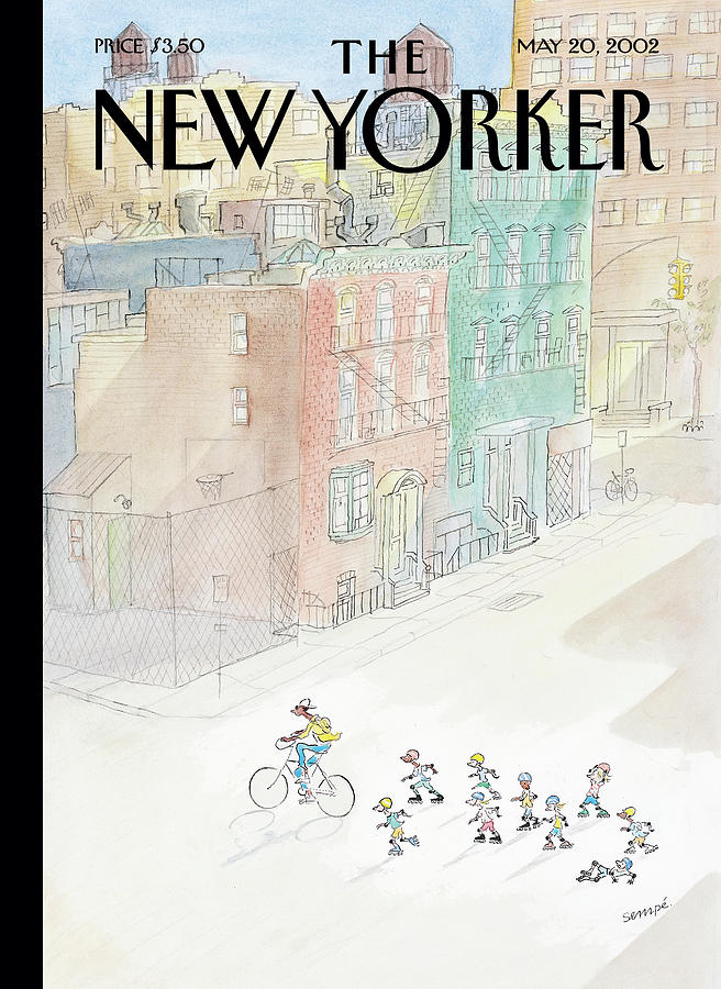 New Yorker May 20th, 2002 Painting by Jean-Jacques Sempe