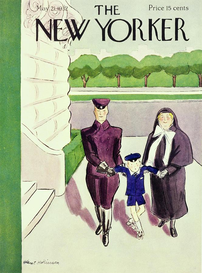 New Yorker May 21 1932 Painting by Helene E. Hokinson