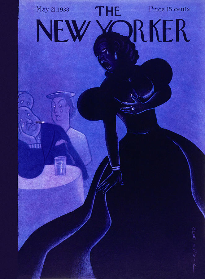 New Yorker May 21 1938 Painting by Rea Irvin