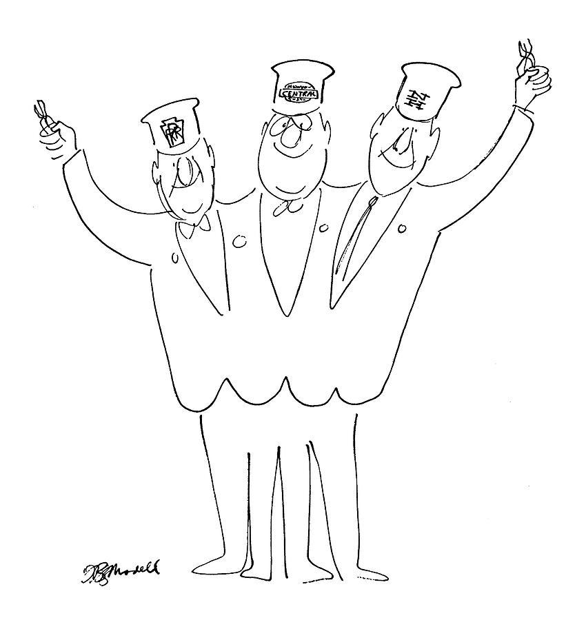 new yorker may 21st  1966 drawing by frank modell