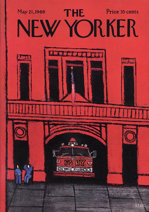 New Yorker May 21st, 1966 Painting by Robert Kraus