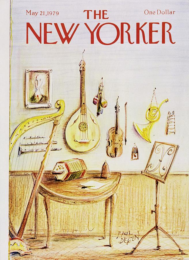 New Yorker May 21st 1979 Painting by Paul Degen
