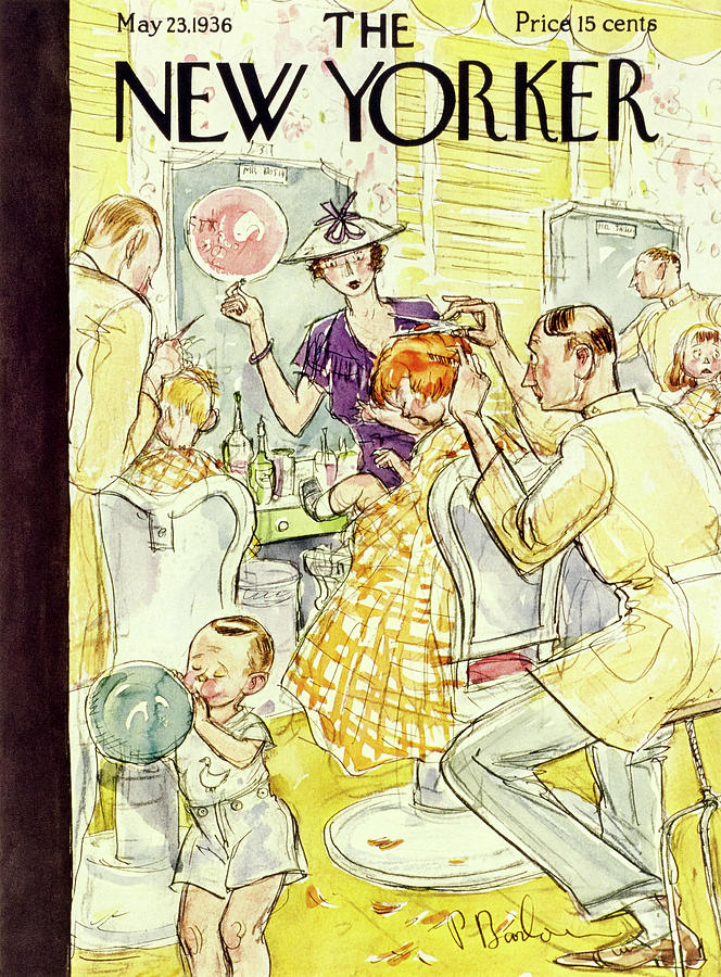 New Yorker May 23 1936 Painting by Perry Barlow