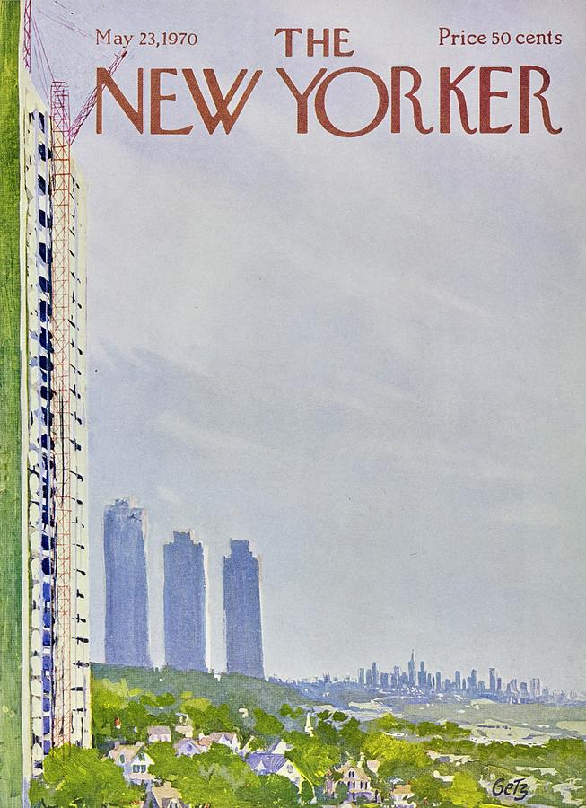 New Yorker May 23rd 1970 Painting by Arthur Getz