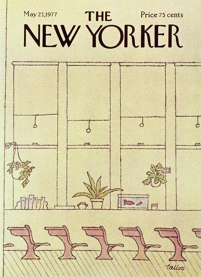 New Yorker May 23rd 1977 Painting by Robert Tallon