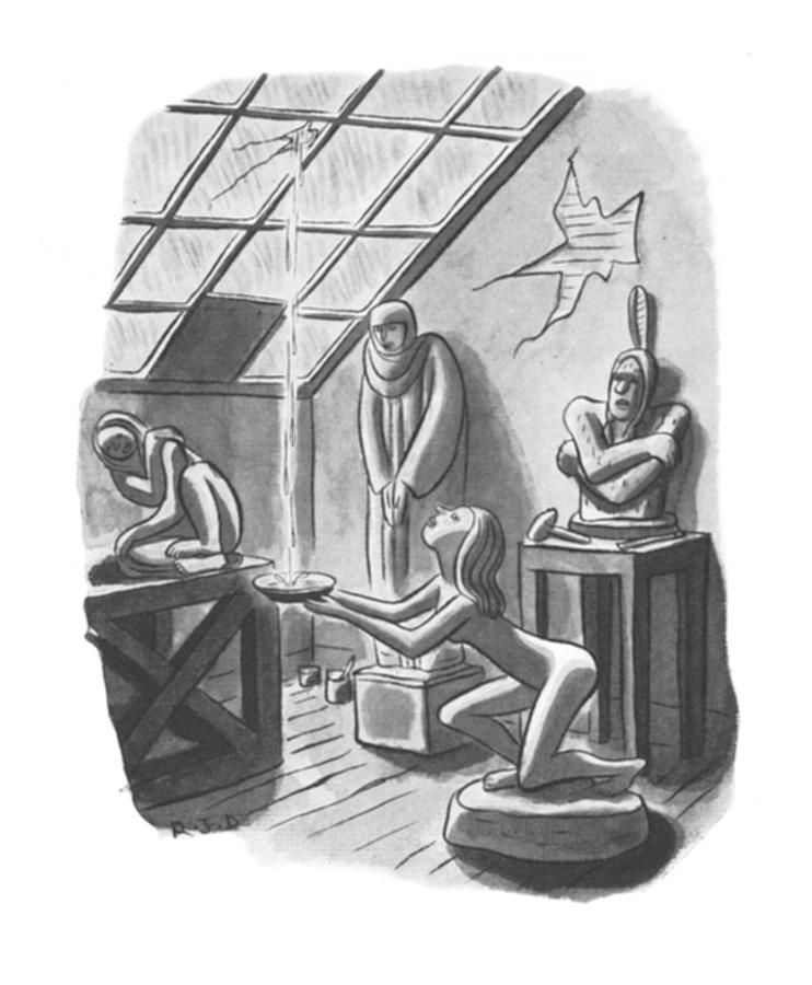 New Yorker May 24th, 1941 Drawing by Robert J. Day
