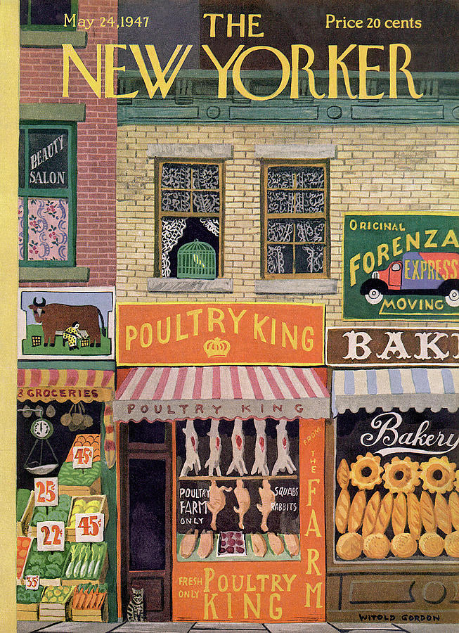 New Yorker May 24th, 1947 Painting by Witold Gordon