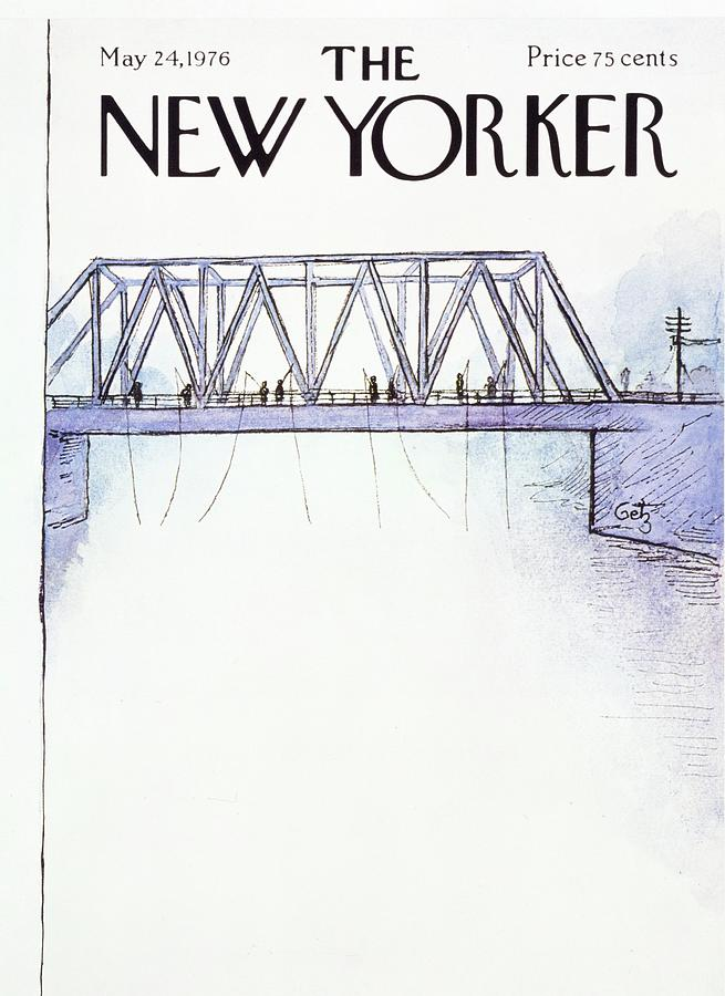 New Yorker May 24th 1976 Painting by Arthur Getz