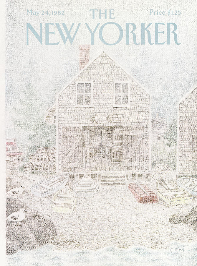 New Yorker May 24th, 1982 Painting by Charles E Martin