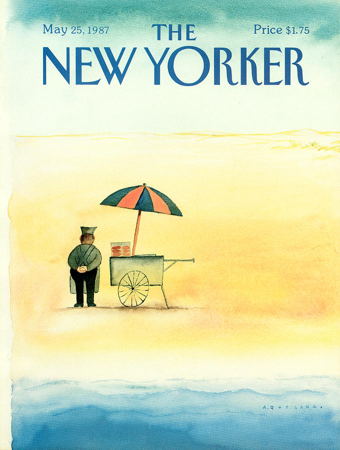 New Yorker May 25th, 1987 Painting by Abel Quezada