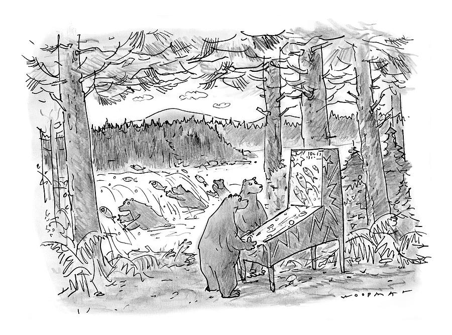 New Yorker May 25th, 1998 Drawing by Bill Woodman