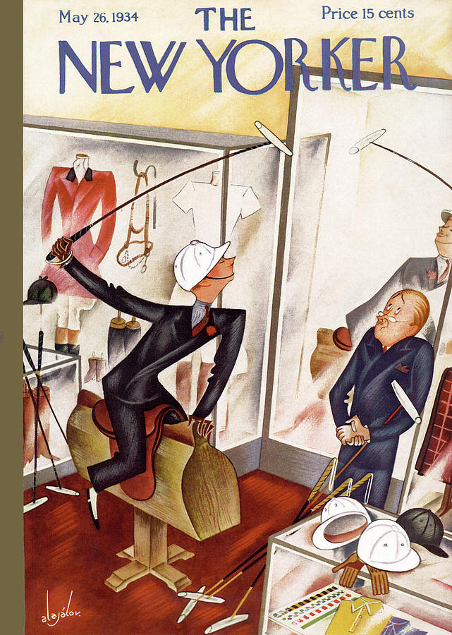 New Yorker May 26th, 1934 Painting by Constantin Alajalov
