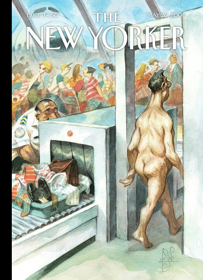 New Yorker May 26th, 2008 Painting by Peter de Seve