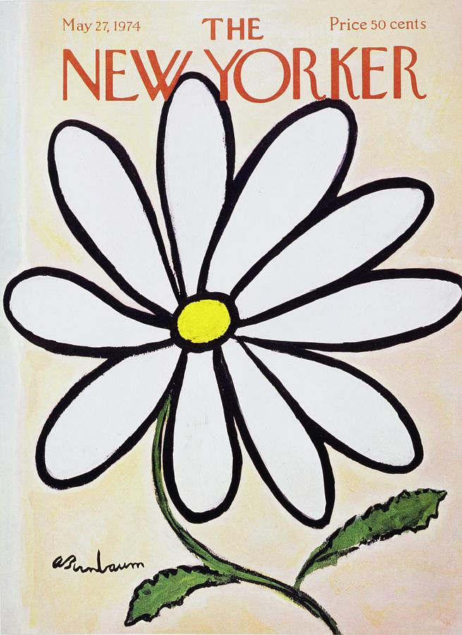 New Yorker May 27th 1974 Painting by Aaron Birnbaum