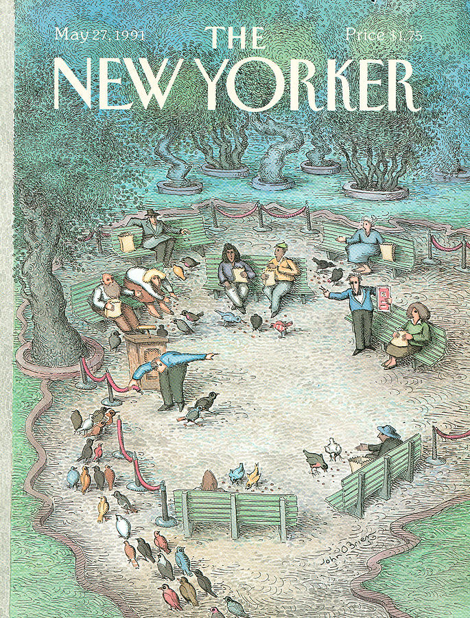 New Yorker May 27th, 1991 Painting by John OBrien
