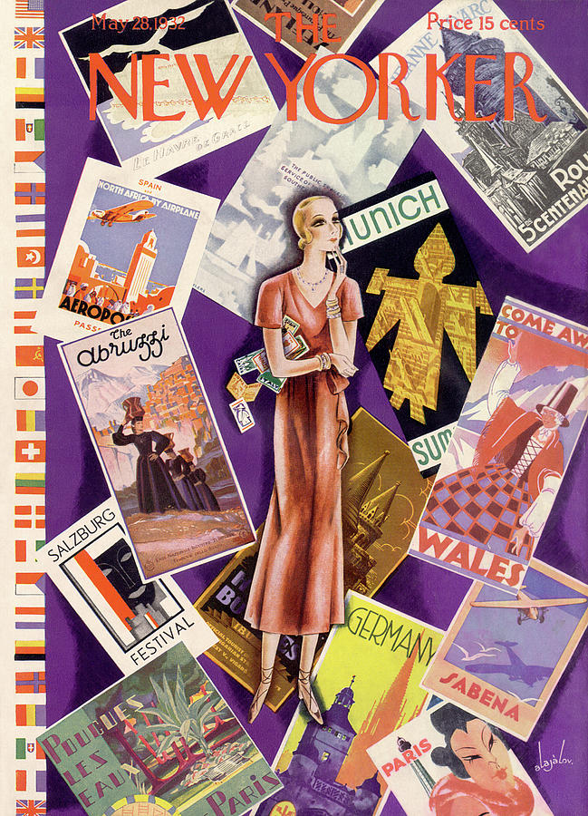 New Yorker May 28th, 1932 Painting by Constantin Alajalov