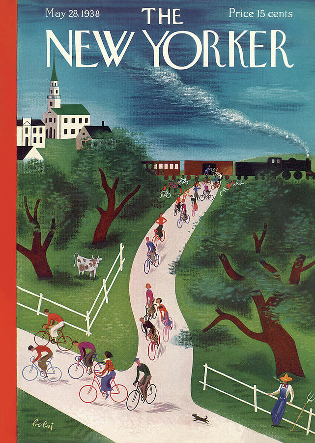 New Yorker May 28th, 1938 Painting by Victor Bobritsky