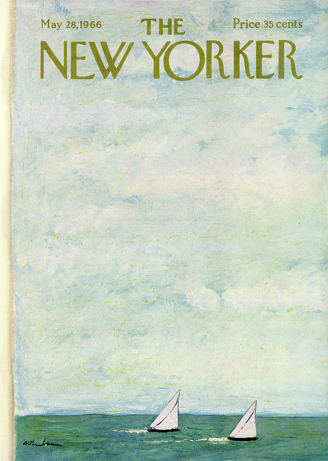 New Yorker May 28th, 1966 Painting by Abe Birnbaum