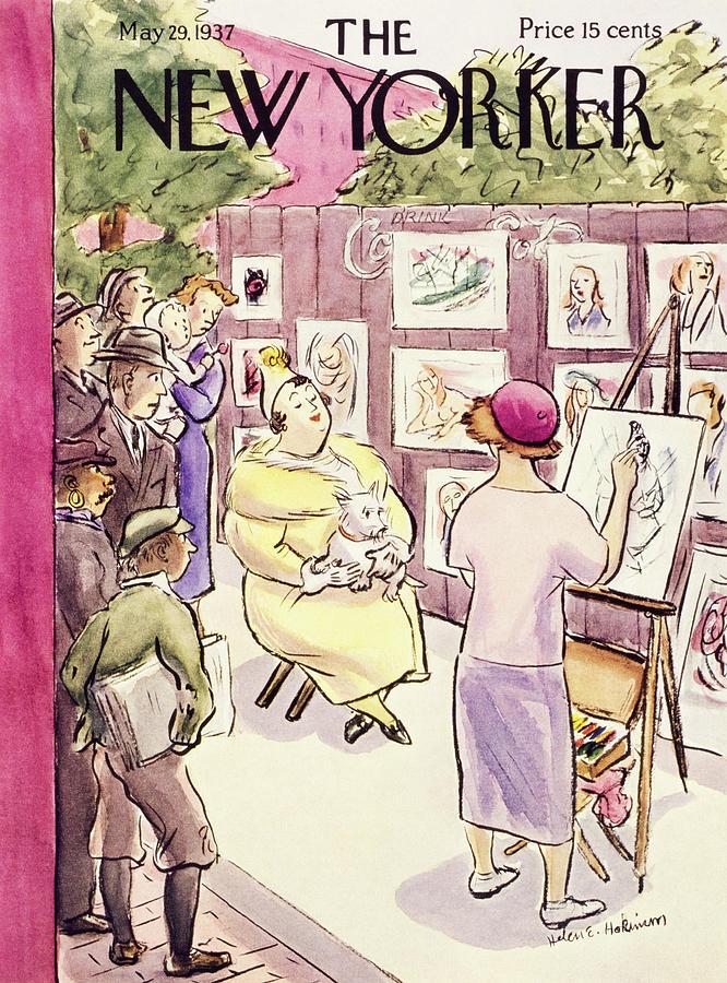 New Yorker May 29 1937  by Helene E. Hokinson