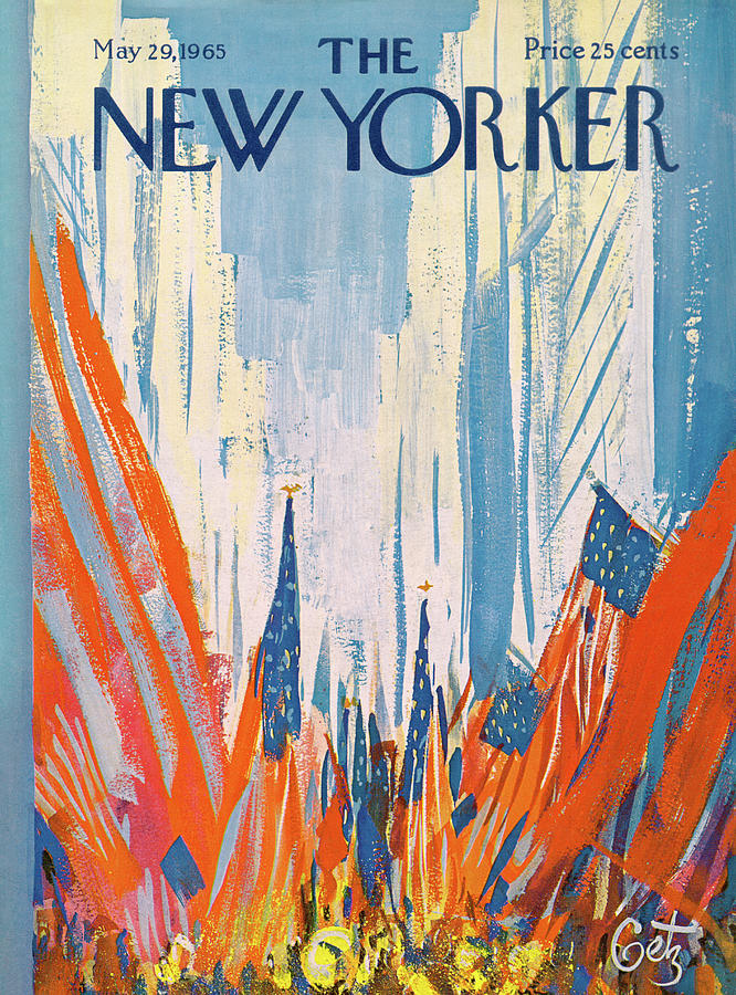 New Yorker May 29th, 1965 Painting by Arthur Getz