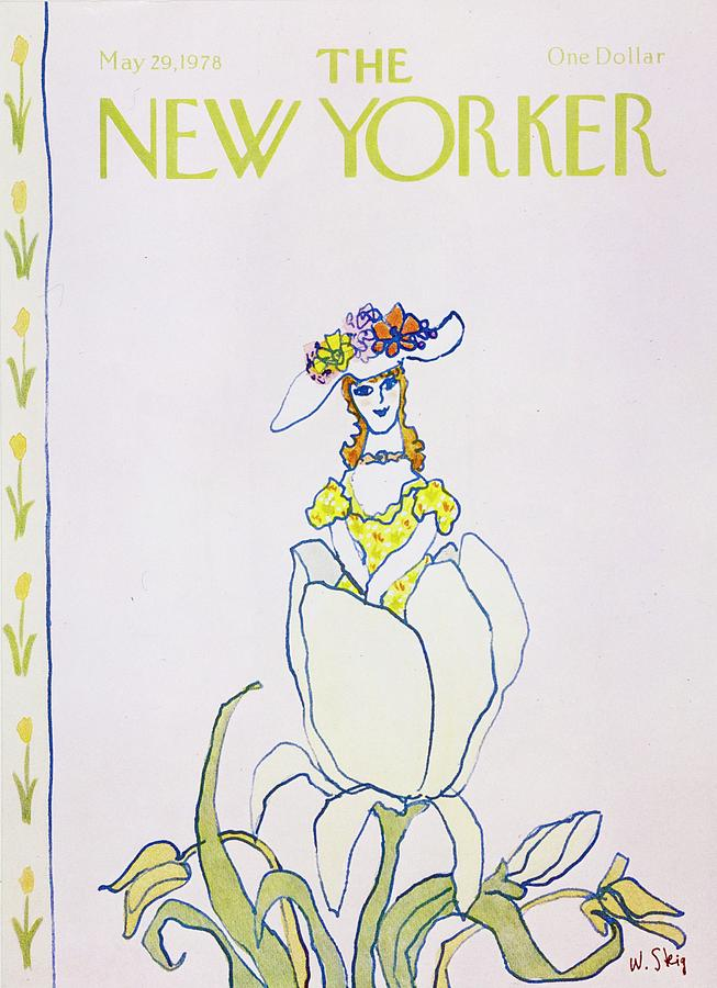 New Yorker May 29th 1978 Painting by William Steig