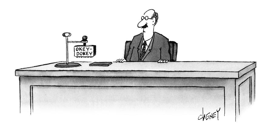 New Yorker May 29th, 1995 Drawing by Tom Cheney