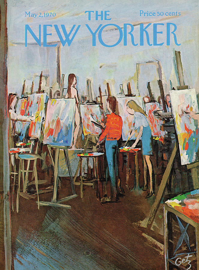 New Yorker May 2nd, 1970 Painting by Arthur Getz
