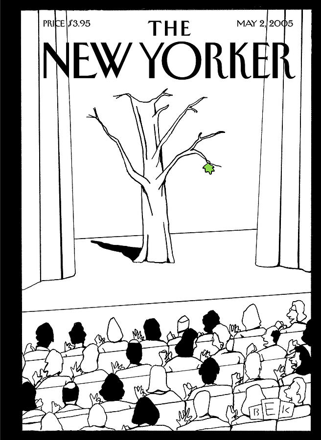 New Yorker May 2nd, 2005 Painting by Bruce Eric Kaplan
