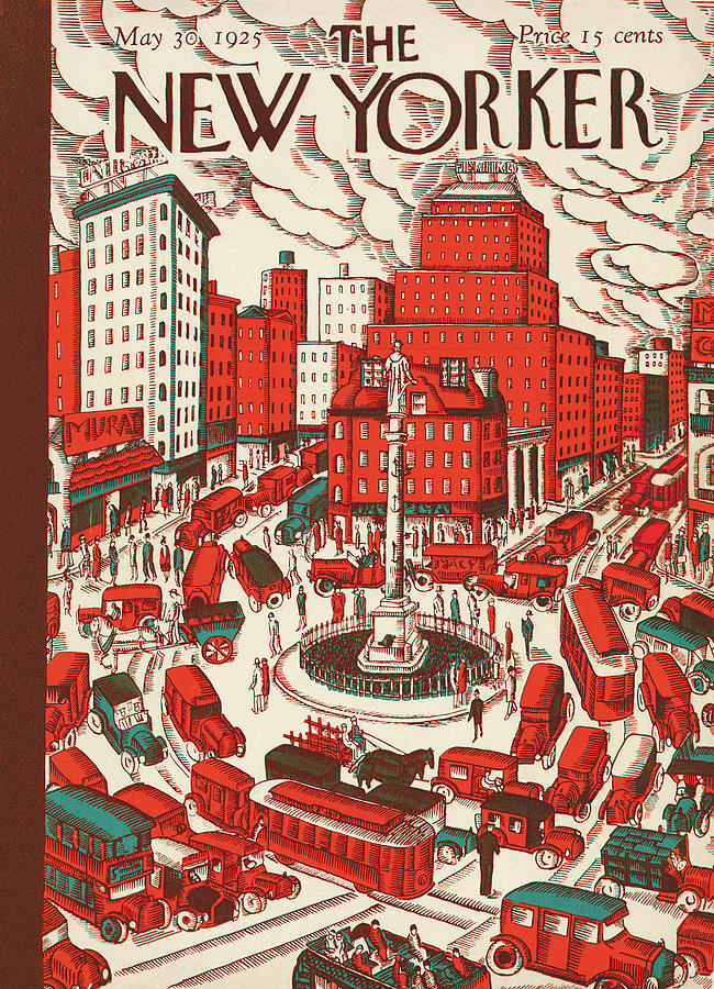 New Yorker May 30th, 1925 Painting by Ilonka Karasz