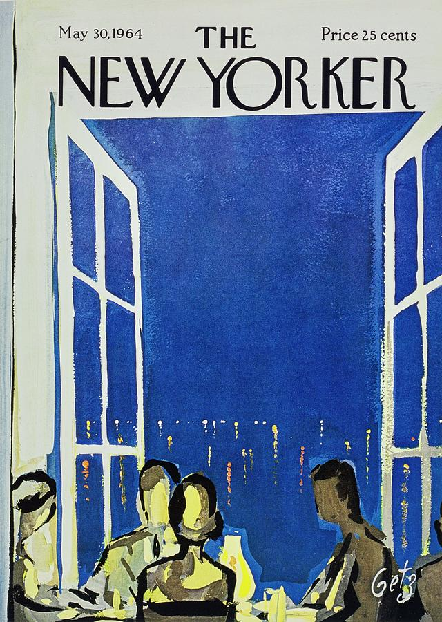 New Yorker May 30th 1964 Painting by Arthur Getz
