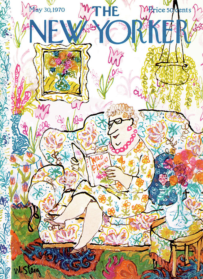 New Yorker May 30th, 1970 Painting by William Steig