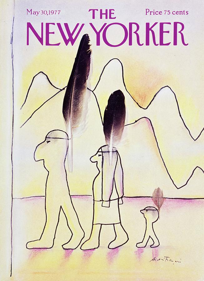 New Yorker May 30th 1977 Painting by Andre Francois