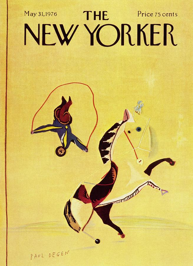 New Yorker May 31st 1976 Painting by Paul Degen