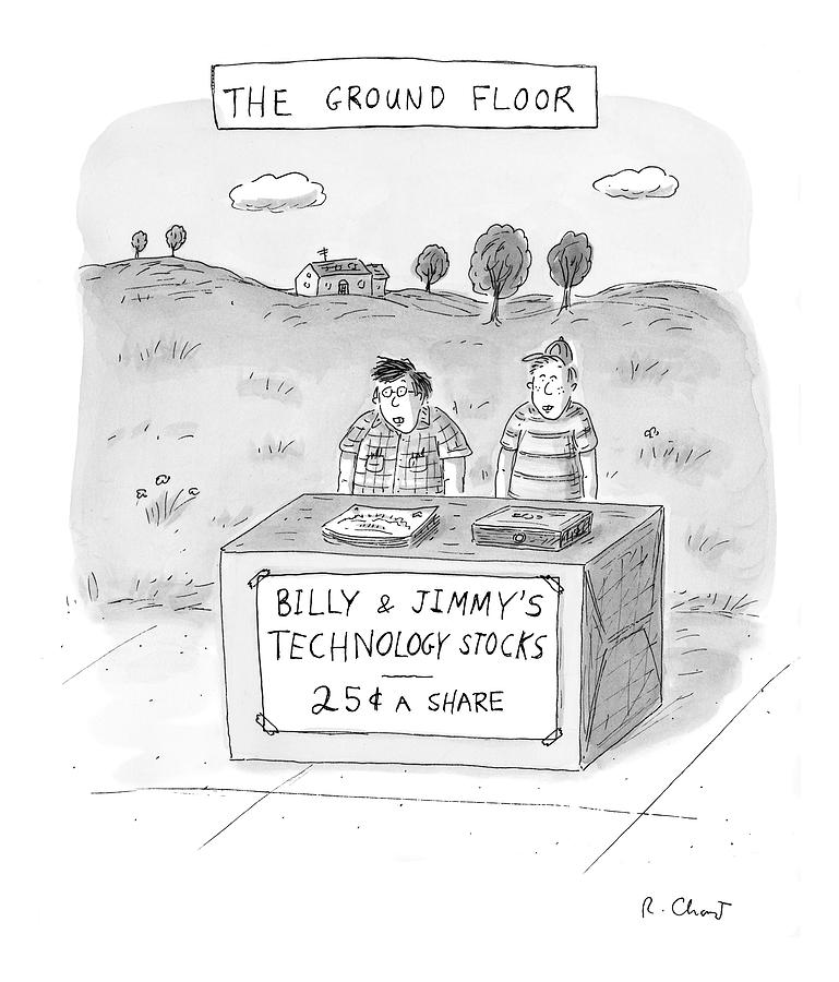 New Yorker May 31st, 1999 Drawing by Roz Chast