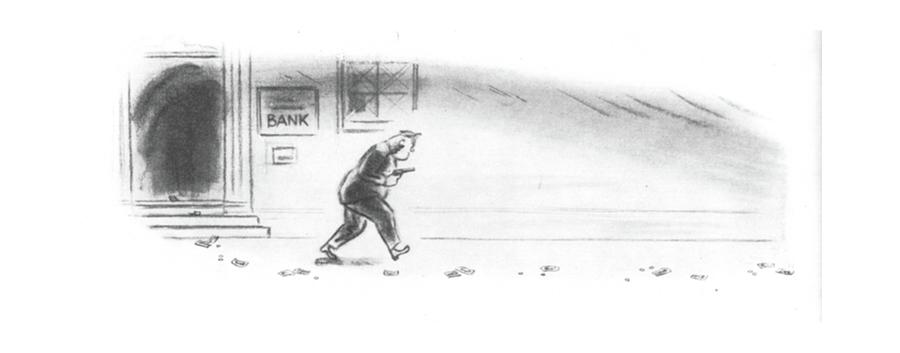 May 3rd Drawing - New Yorker May 3rd, 1941 by Leonard Dove