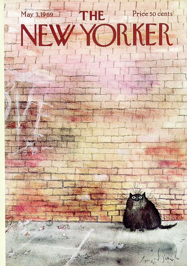 New Yorker May 3rd, 1969 Painting by Ronald Searle