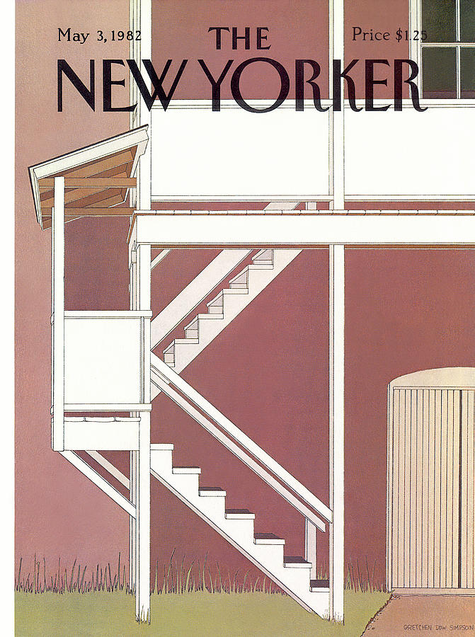 New Yorker May 3rd, 1982 Painting by Gretchen Dow Simpson