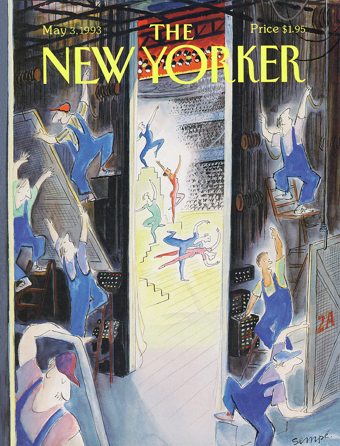 New Yorker May 3rd, 1993 Painting by Jean-Jacques Sempe