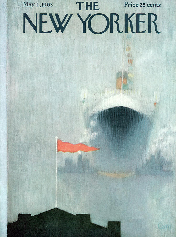 New Yorker May 4th, 1963 Painting by Charles E. Martin