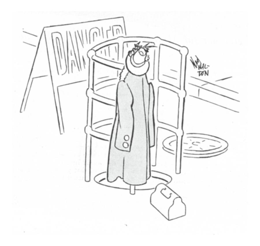 New Yorker May 6th, 1944 Drawing by Ned Hilton