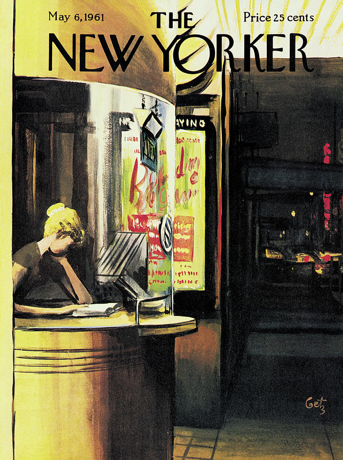 New Yorker May 6th, 1961 Painting by Arthur Getz