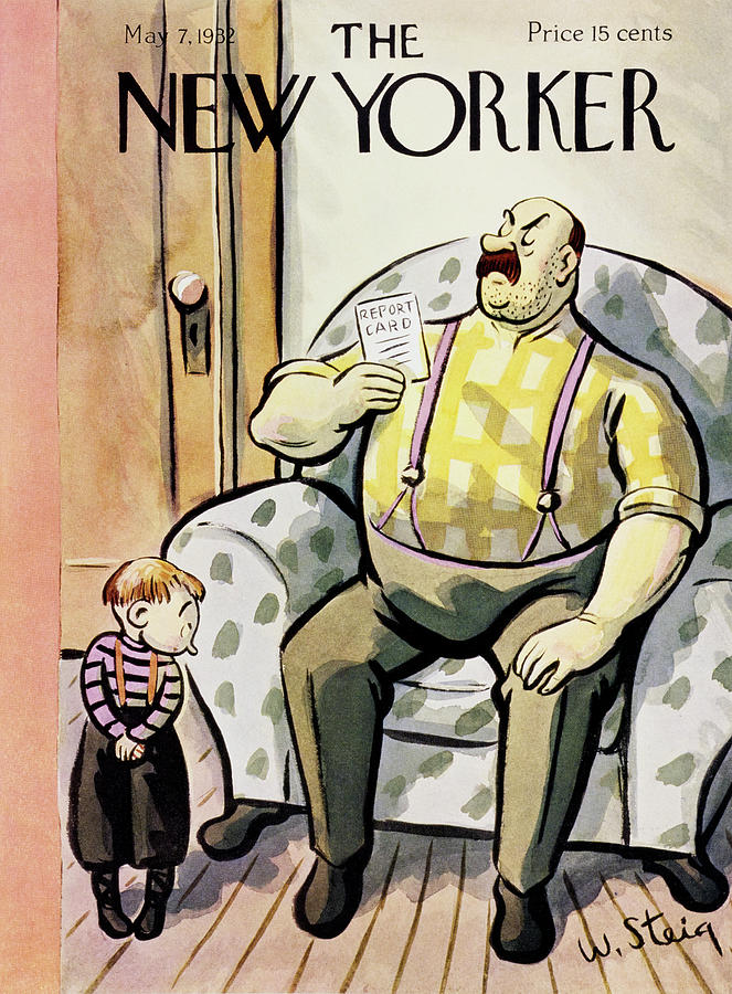 New Yorker May 7 1932 Painting by William Steig