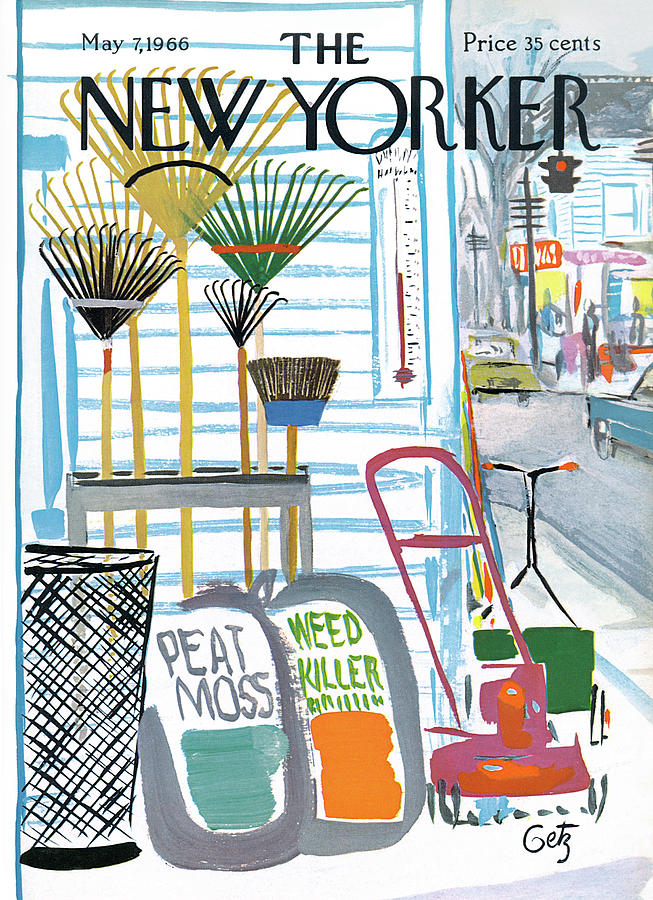 New Yorker May 7th, 1966 Painting by Arthur Getz