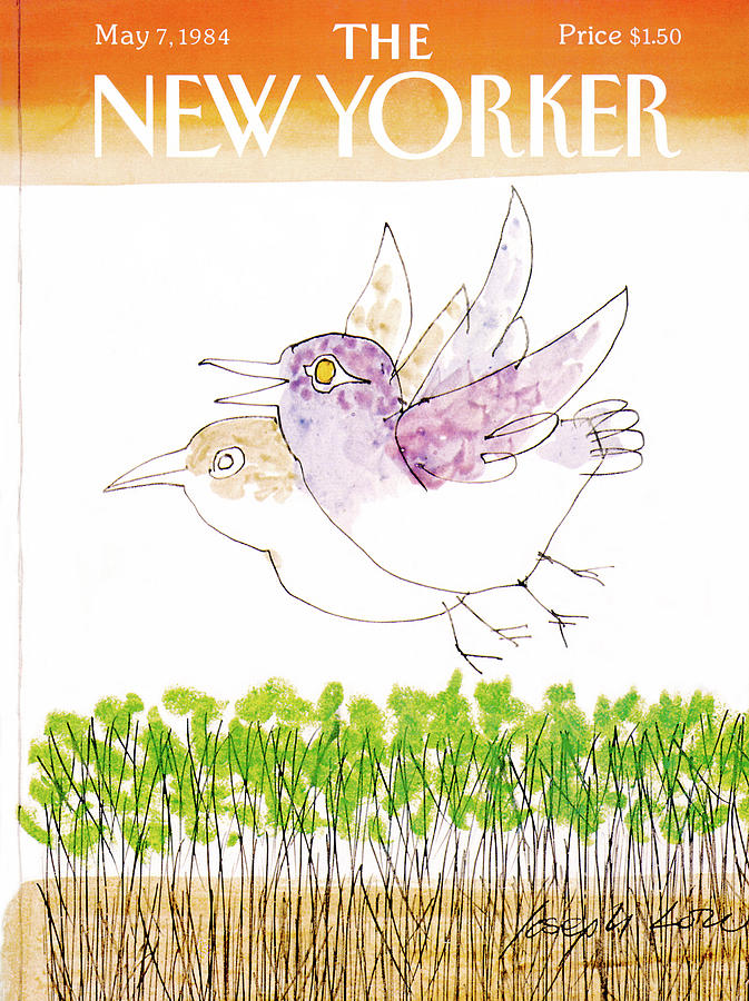 New Yorker May 7th, 1984 Painting by Joseph Low